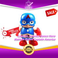 Captain America Dance Hero Marvel Avengers - Robot Musik Joget 0640