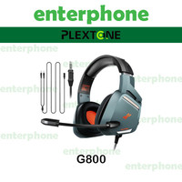 Plextone G800 Gaming Headset Headphone Led Light Original