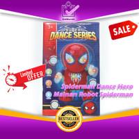 SpiderMan Dance Hero Marvel Avengers - Mainan Robot Musik Joget 0641