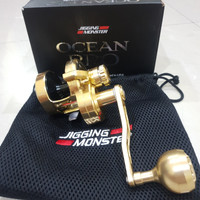 Reel OH Ocean Pro Jigging monster 400L Handle kiri