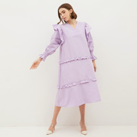 NONA Olive Dress Lilac - Nona x Yure Collection