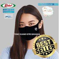 Masker Kain Dewasa Rider Anti Virus 3 Tiga Lapis Triple Protection