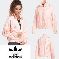Adidas floral track jacket Material polyester D