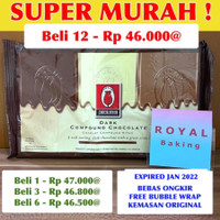 tulip dark chocolate compound 1 kg