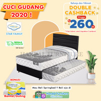Comforta Set Kasur Spring Bed Star Family 120x200