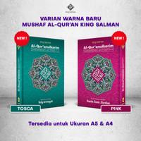 Al-Quran Terjemahan Per kata Ukuran A5 Bisa Custom Nama Di Cover