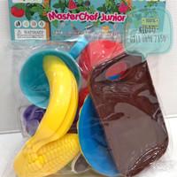 Mainan memotong buah - buah potong - K