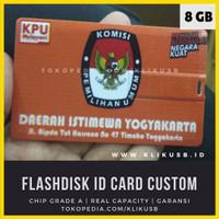 Flashdisk Custom Kartu 8GB (Real capacity guaranteed) 8Gb - 2 Hari