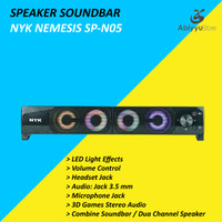 Speaker NYK Nemesis SP-N05 Soundbar Laptop - Notebook - PC Komputer