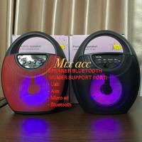 YD-706 Portable Wireless Bluetooth Speaker RGB rainbow