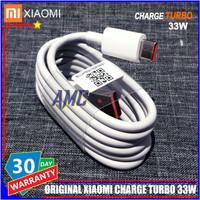 Kabel Data Xiaomi TURBO CHARGE ORIGINAL 100% USB C Resmi Indonesia