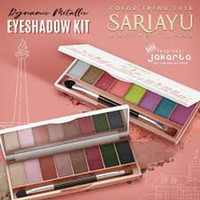 Promo Sariayu Color Trend 2018 Eye Shadow Kit Limited
