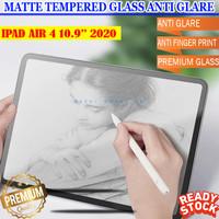 iPad Air 4 10.9 2020 Antiglare Tempered Glass Paper Like Screen Guard - Matte