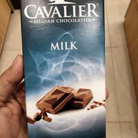 CAVALIER Belgian Chocolatier Milk 85 gr