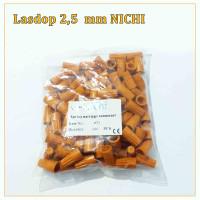Lasdop/Las dop/Screw on wire 2.5 mm per pack isi 100pcs NICHI - ORANGE