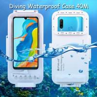 Puluz Diving Waterproof Case 45 Meter Underwater Huawei P30 Lite