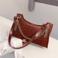 Vintage Bag Korean Style - Tas Shoulder - Bag Wanita Import Terbaru
