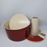 8 Red chiffon/cheesecake baking pan /loyang bongpas /loyang chiffon