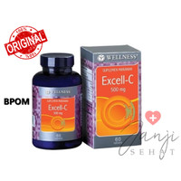 WELLNESS Excell C 500 mg Vitamin C 60 Tablet