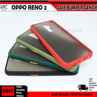 Oppo Neo 9 Reno 2 2F 3 4 4f Pro Hard Case Bumper Candy Frosted