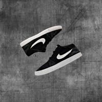 Sepatu Sneakers Original Branded - Nike SB PORTMORE MID 42