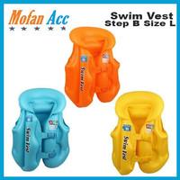 Rompi Renang Pelampung Anak Swim Vest Ban Jaket Step B Size L