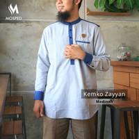 Koko Kurta Kemko Zayyan Merek MOSPED Original Bahan Katun Madinah