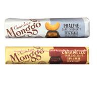 Monggo Chocolate Praline Caramello Dark Coklat Kakao 40gr