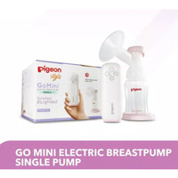 Pigeon Go Mini Electric Single Breastpump Breast Pump Pompa ASI