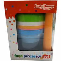 Morinz Lusty Bunny LB-1374 Food Processor (Kemasan BOX)