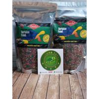 Repcal Tortoise Food / Pelet kura kura darat Pouch 500gram