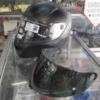 Helm nolan full face N60.5 sport flat black size XL
