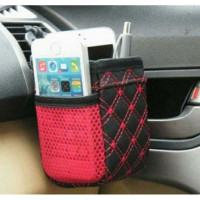 Tas Gantung Ac Mobil/Car Seat Organizer/Hitam