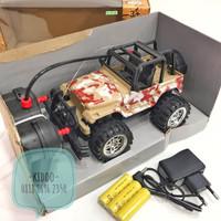 rc rock crawler jeep motif militer - BSJN