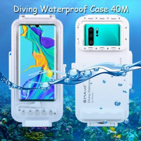 Puluz Diving Waterproof Case 45 Meter Underwater Huawei P30 Pro