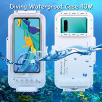 Puluz Diving Waterproof Case 45 Meter Underwater Huawei P30