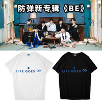 Kaos Baju Combed Distro LiFE GOES ON kpop korea polos custom indonesia