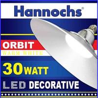 Lampu KAP LED/Lampu KAP Industri 30Watt 11 Inchi Kuning HANNOCHS ORBIT