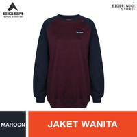 Eiger 1989 Moanda Sweater - Maroon