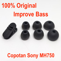 Original Sony Eartips Copotan Improve Bass 1 Set S M L sama Clip