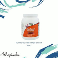 Dijual Now Foods Sunflower Lecithin Pure Powder 1 lb 454 g Limited