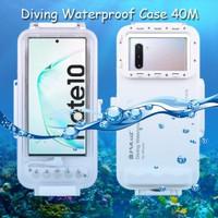 Puluz Diving Waterproof Case 45 Meter Underwater Samsung Note 10