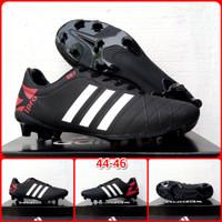 Sepatu Bola big Adidas 44 - 47 - Hitam, 44