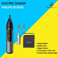 Electric Shaver Philips NT3650 - Alat Cukur Pencukur Bulu Hidung Alis