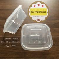 Thinwall 350 ml KOTAK / Food Container Microwave / Kotak Makan Plastik