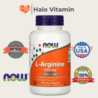L-Arginine 500 mg, 100 Veg Tabs, Now Foods *ORI USA*
