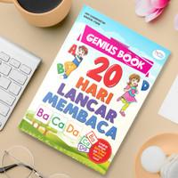 Buku Belajar Membaca : 20 Hari Lancar Membaca Bonus Stiker