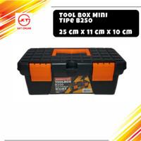 Toolbox Mini Kenmaster B250 / Tool Box Tempat Perkakas Serbaguna