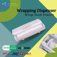 Wraptastic Tempat Pemotong Plastik Wrap Food Plastic Wrapping Dispense