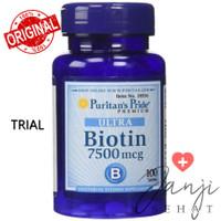 Eceran Puritan Pride Biotin 7500 mcg per 10 Tablet
